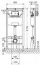 Инсталяционный комплект Schell Montus REWC 000*+RESC0003 унитаз с крышкой SoftClose и кнопкой глянцевый хром