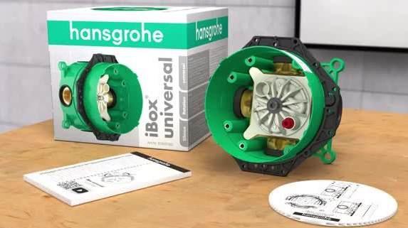 скрытая часть Hansgrohe Ibox Universal 01800180