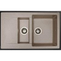 Мойка кухонная Fancy Marble LaPas 110080007 песочная