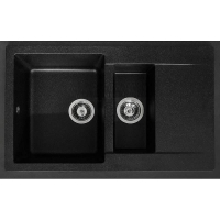 Мойка кухонная Fancy Marble LaPas 110080004 светло-черная