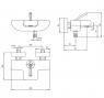 Смеситель для ванны ECA Novita Black М 1087 102502447