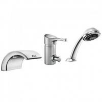 Смеситель для ванны ECA Lotus М111 102153002