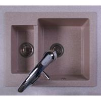 Мойка кухонная Fancy Marble Arizona 105067001 песочная