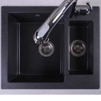 Мойка кухонная Fancy Marble Arizona 105067004 черная