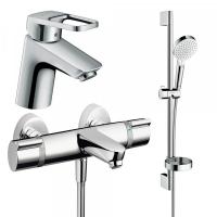 Набор смесителей для ванны 3 в 1 Hansgrohe Logis Loop 1132019