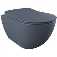 Унитаз подвесной Creativ Free Rim-Off FE320-11BM00E-0000 с сиденьем KC0903.01.0600E