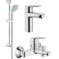 Набор смесителей для ванны BauLoop 123214 (23337000+32815000+27598000)