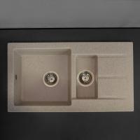 Мойка кухонная Fancy Marble Alabama 206080007 песочная