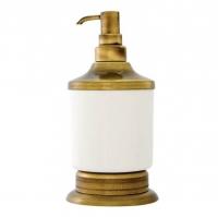 Дозатор жидкого мыла Kugu Versace Freestand antique 230A