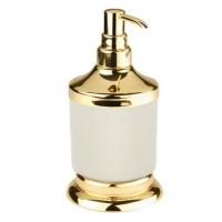 Дозатор жидкого мыла Kugu Versace Freestand gold 230G