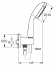 Душевой комплект скрытого монтажа Grohe Grohtherm с системой Rainshower Mono 310 34615SC0