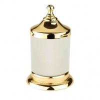 Стакан для аксессуаров Kugu Versace Freestand gold 240G