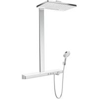 Душевая система Hansgrohe Raindance Select Rainmaker Select 460 2jet 27028400 Showerpipe EcoSmart