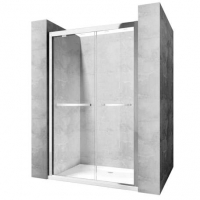 Дверь душевая Rea Move 140 SafeGlass Rea-K7417