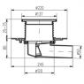 Трап для балконов и террас MCH 381 D