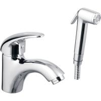 Смеситель для умывальника ECA Mix P М210 402110041 с гигиеническим душем