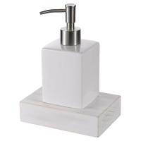 Дозатор жидкого мыла Haceka Whitewash 402216