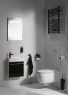 Ерш для туалета Haceka Kosmos Black 402920 (1142261)
