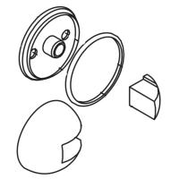 Накладка + кольцо Axor Carlton 40389