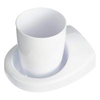 Стакан для зубных щеток Haceka Uno 1113155 (407904)
