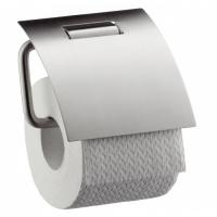 Бумагодержатель с крышкой Axor Steel 41838800