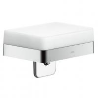 Дозатор жидкого мыла с полочкой Axor Universal Accessories 42819000