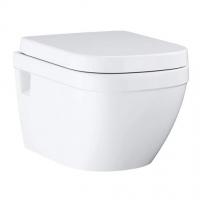 Унитаз подвесной Grohe Euro Ceramic 3953800L с сидением SoftClose