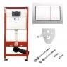 Комплект 5 в 1 унитаз подвесной Villeroy&Boch Omnia Architectura 5684HR01 с комплектом TECEbase kit 4в1 9400006