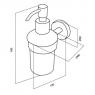 Дозатор жидкого мыла Am.Pm Sense A7536900