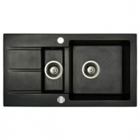 Мойка кухонная Fancy Marble Alabama 206080004 светло-черная