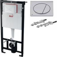 Комплект система инсталляции Alca Plast AM101/1120 Sadromodul с кнопкой M71