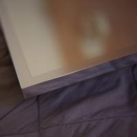 Рама алюминиевая J-mirror Alu 001 black brushed