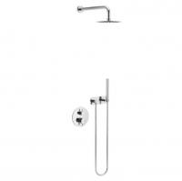 Смеситель для ванны Excellent Frost Quatro AREX.4400CR с душевым набором
