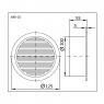 Вентиляционная решетка Styron ARK-01