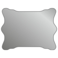 Зеркало J-mirror Brigida 50x67 см амбилайт