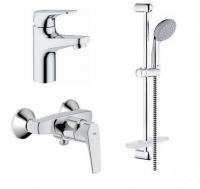 Набор BauFlow д/ванны и душ. комплект (32811000_23156000_27926000)