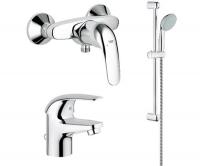 Набор Euroeco д/ванны и душ. комплект (32743000_32734000_27322000)