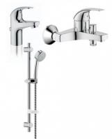 Набор BauCurve д/ванны и душ. комплект (32806000_23165000_27077000)