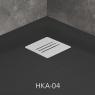 Поддон душевой Radaway Kyntos A Black HKA9090-54 90 см