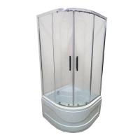 Душевая кабина Veronis KV-3-100 100х100х195 прозрачное стекло