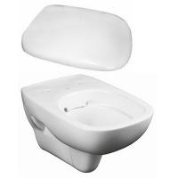 Набор керамики 2в1 подвесной унитаз Kolo Style L23120000 Rimfree с дюропластовым сиденьем Kolo Style L20112000 soft-close