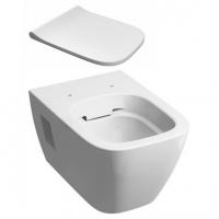 Набор керамики 2в1 подвесной унитаз Kolo Modo L33120000 Rimfree с дюропластовым сиденьем Kolo Modo L30112000 soft-close
