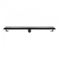 Душевой канал Inox Style Supra-line Classic L118503 с решеткой Круги big & small 1185 мм