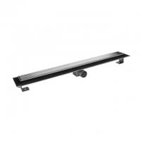Душевой канал Inox Style Supra-line Classic L118510 с решеткой натуральный камень 1185 мм