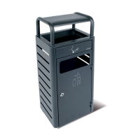 Пепельница с корзиной для мусора JVD 8991008 2,3 л