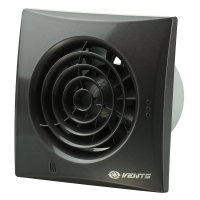 Вентилятор бытовой Vents 100 Квайт черный