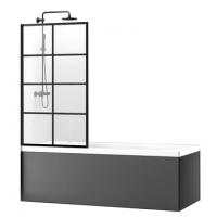 Шторка для ванны Rea Lagos REA-K4570 80 см