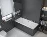 Шторка для ванны Excellent Seria 900 KAAC.1609.730.LP 73 см