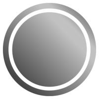 Зеркало J-mirror Silvia Inox Gloss 50x50 см