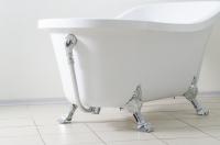 Акриловая ванна на львиных лапах EAGO GFK 1700-1